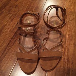 Madden Girl wrap heels!